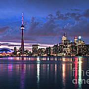 Toronto Skyline Print by Elena Elisseeva