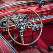 1963 Ford Falcon Sprint Convertible  Print by Rich Franco