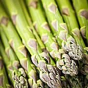 Asparagus Print by Elena Elisseeva