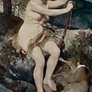 Diana Print by Pierre-Auguste Renoir