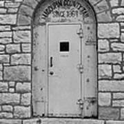 Route 66 - Macoupin County Jail Print by Frank Romeo