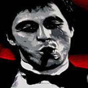 Scarface 2013 Print by Luis Ludzska