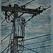 Transformer Print by William Cauthern