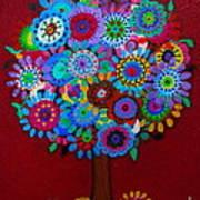 Tree Of Hope Print by Pristine Cartera Turkus
