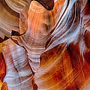 Upper Antelope Canyon Print by Robert Jensen
