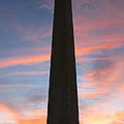 Washington Monument Print by Olivier Le Queinec