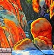 Watson Lake Print by Robert Hooper