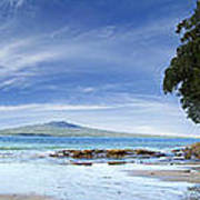 New Zealand Print by Les Cunliffe