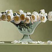 39 Roses Print by Mark Van crombrugge