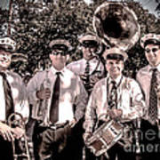 3rd Line Brass Band Print by Renee Barnes