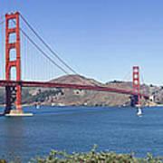 Golden Gate Bridge Print by Melanie Viola