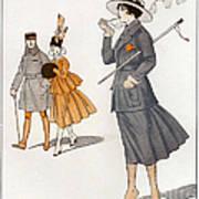 La Vie Parisienne  1916 1910s France Cc Print by The Advertising Archives