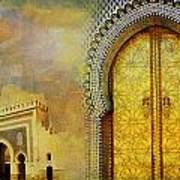 Medina Of Faz Print by Catf