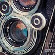 Old Vintage Camera Print by Sabino Parente