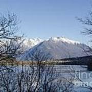 Alpine Lake Print by Mats Silvan