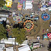 Fryeburg Fair, Maine Me Print by Dave Cleaveland