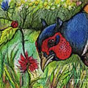 In My Magic Garden Print by Angel  Tarantella