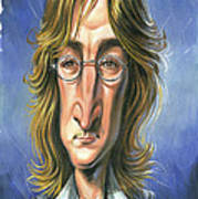 John Lennon Print by Art