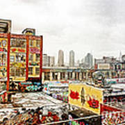 5 Pointz In Itz Prime Print by Nishanth Gopinathan