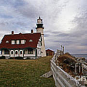 Portland Head Lighthouse Print by Skip Willits