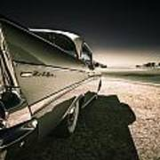 57 Chevrolet Bel Air Print by motography aka Phil Clark