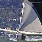 San Francisco Sailing Print by Steven Lapkin