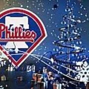 Philadelphia Phillies Print by Joe Hamilton