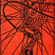Derailluer Print by William Cauthern