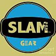 Slam One Gear Print by James Eye