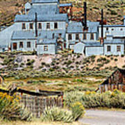 A Bodie View From Above Print by Joseph Coulombe