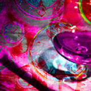 A Cognac Night 20130815m50 Print by Wingsdomain Art and Photography