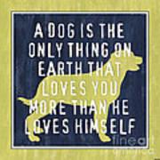 A Dog... Print by Debbie DeWitt