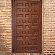 A Door In Toledo Print by Roberto Alamino