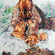 A Mother's Love Print by Melanie Alcantara Correia