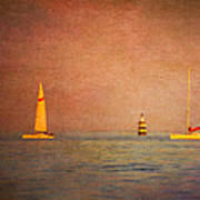 A Perfect Summer Evening Print by Loriental Photography