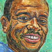 A Teacher From Atlanta Ga Print by Xueling Zou