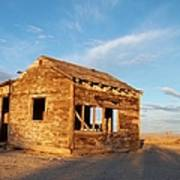 Abandoned - California Desert Print by Glenn McCarthy Art and Photography
