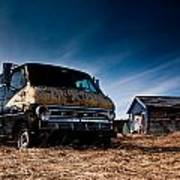 Abandoned Ford Van Print by Cale Best
