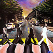 Abbey Road Print by Steve Will