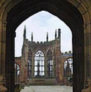 Abbey Ruin - Scotland Print by Mike McGlothlen