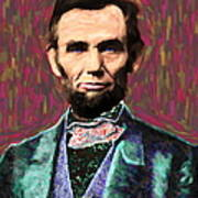 Abe 20130115 Print by Wingsdomain Art and Photography