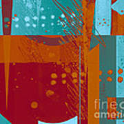 Abstract 203 Print by Ann Powell