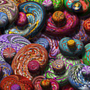 Abstract - Beans Print by Mike Savad