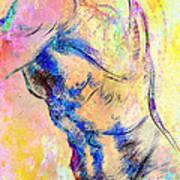 Abstract Bod 6 Print by Mark Ashkenazi