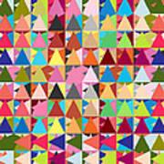 Abstract Of Colors  Print by Mark Ashkenazi