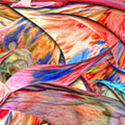 Abstract - Paper - Origami Print by Mike Savad