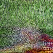 Abstraction Of Life Print by Deborah Benoit