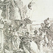 Adoration Of The Magi Print by Giovanni Battista Tiepolo