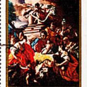 Adoration Of The Shepherds  Print by Jim Pruitt