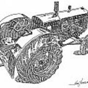 Advance Rumely Print by Ken Nickle
